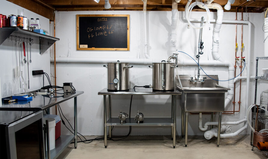 Building An Electric Brewery In Your Basement: Getting Started