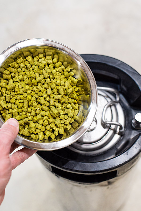 Dry hopping in a keg - Fermenting in a corny keg