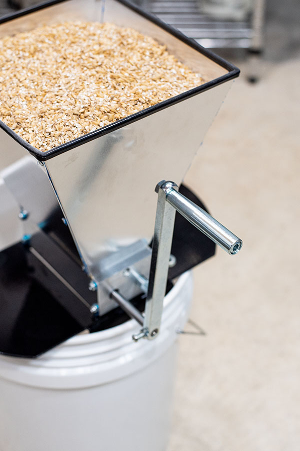Milling grains for BIAB