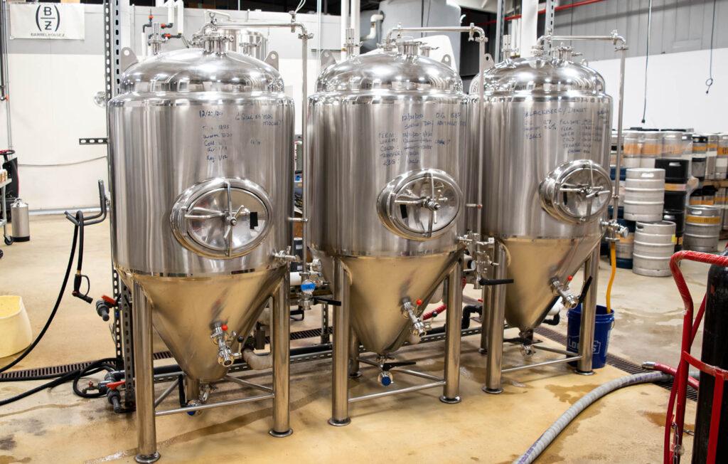 Conical fermenters - Barrel House Z