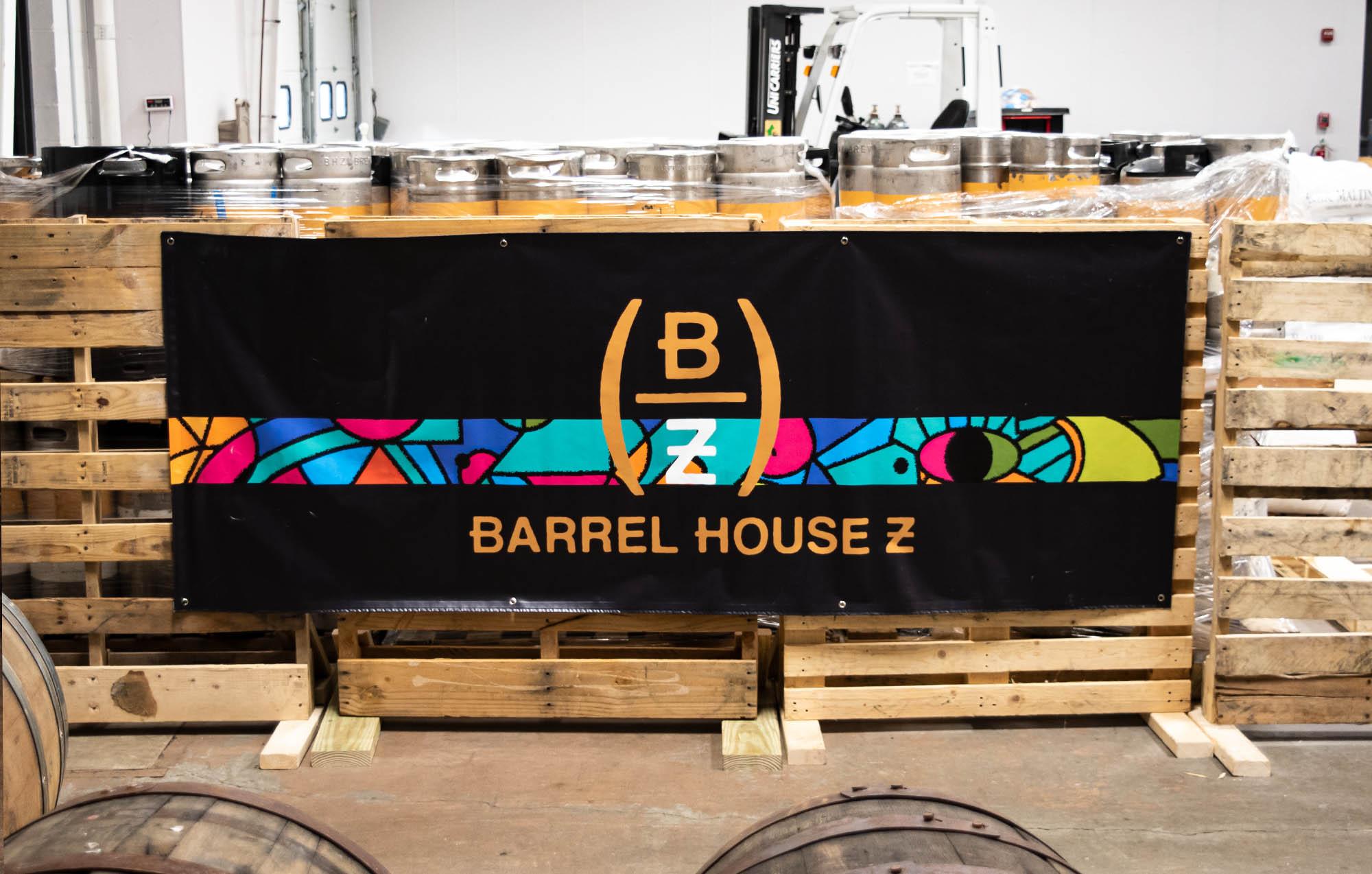 Barrel House Z sign