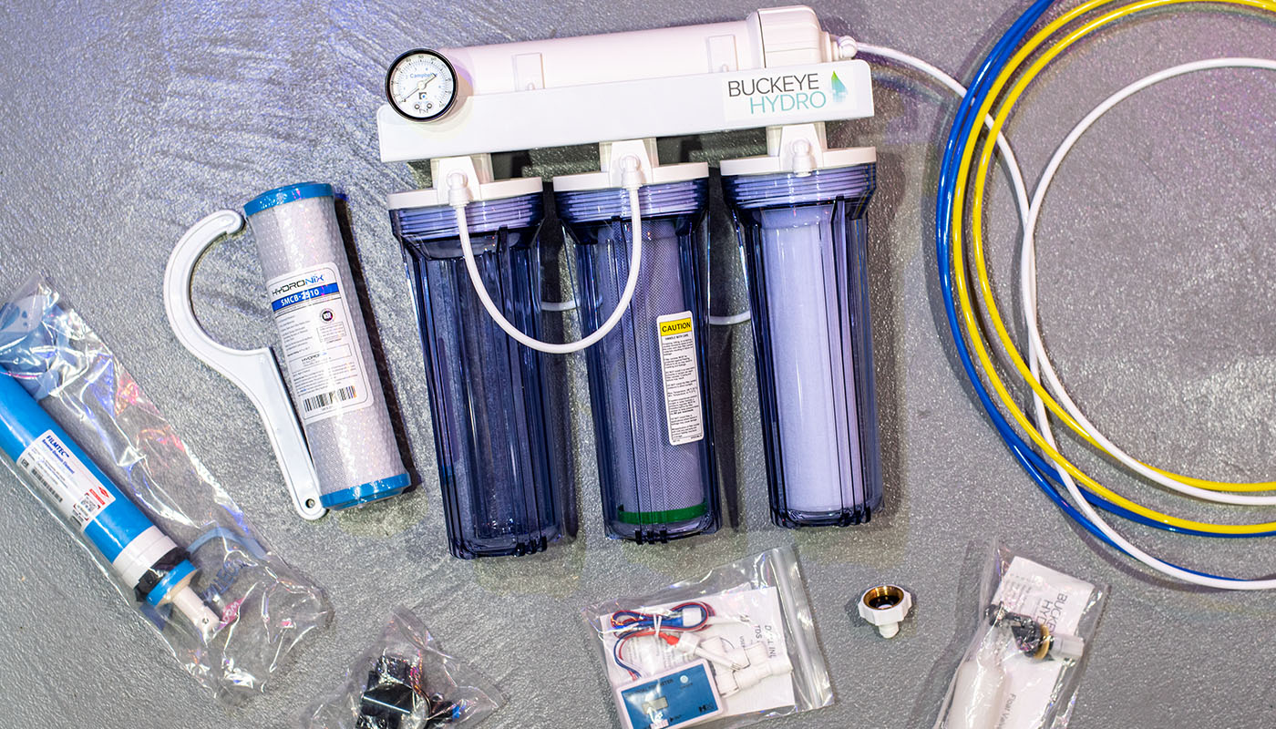 Buckeye Hydro Reverse Osmosis System for Homebrewers